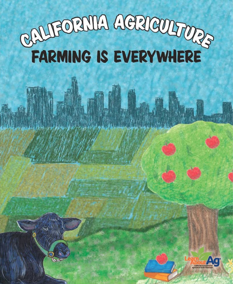 California Agriculture: Farming is Everywhere Coloring Book