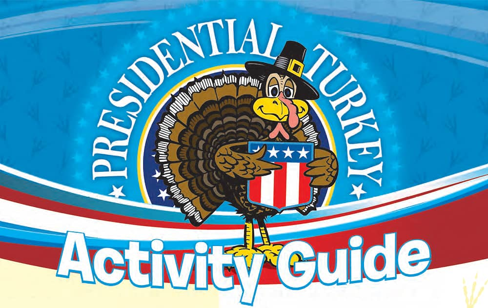 Presidential Turkey Tour Activity Guide